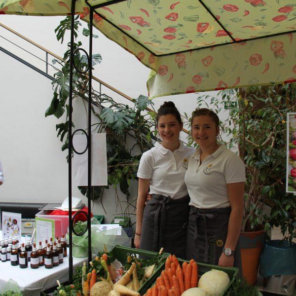 Ostermarkt Gemüseverkauf